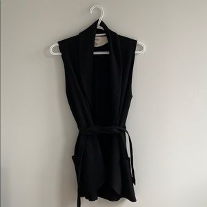 Wilfred Normandie Black Vest Size S